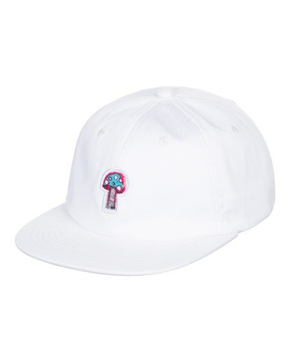 0 Shrooms Pool Strapback Hat White ALYHA00122 Element