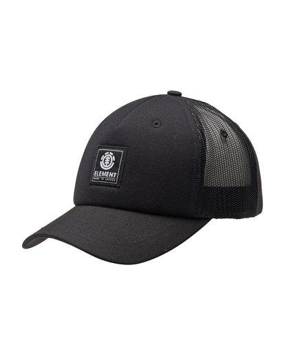 3 Icon Mesh Trucker Hat Black ALYHA00126 Element