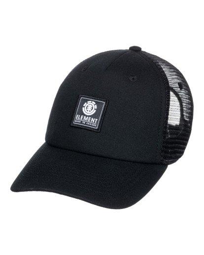 0 Icon Mesh Trucker Hat Black ALYHA00126 Element