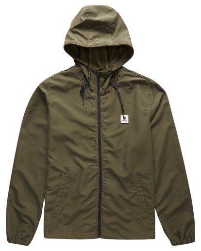 0 Alder Wind Shell Jacket Green ALYJK00100 Element
