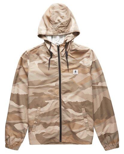 0 Alder Wind Shell Jacket Beige ALYJK00100 Element