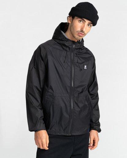 6 Ridge Runner Parka Jacket Blue ALYJK00106 Element