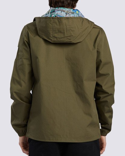 1 Peanuts x Element Alder Jacket Beige ALYJK00109 Element