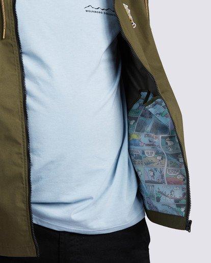 3 Peanuts x Element Alder Jacket Beige ALYJK00109 Element