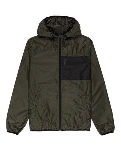 0 Alder Fundamental Jacket Green ALYJK00136 Element