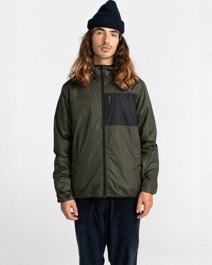 1 Alder Fundamental Jacket Green ALYJK00136 Element
