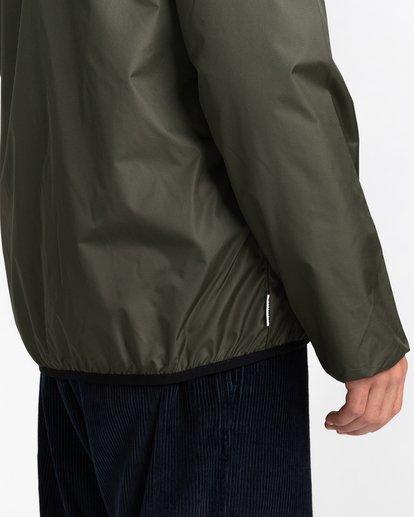 4 Alder Fundamental Jacket Green ALYJK00136 Element