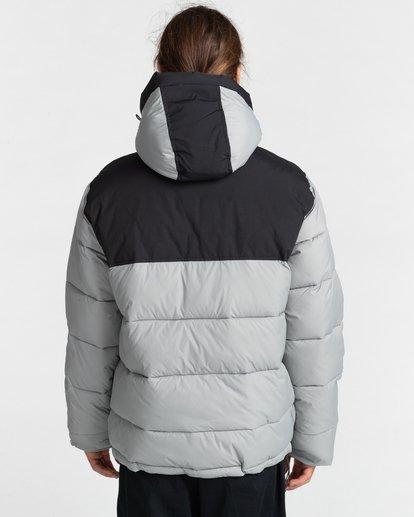 10 Dulcey Puff Contrast Jacket Grey ALYJK00137 Element