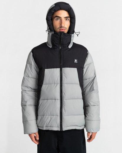 2 Dulcey Puff Contrast Jacket Grey ALYJK00137 Element