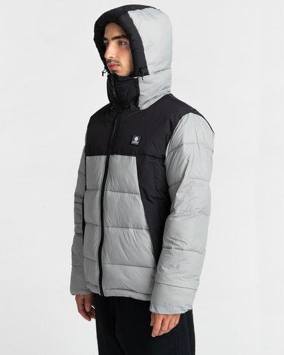 3 Dulcey Puff Contrast Jacket Grey ALYJK00137 Element