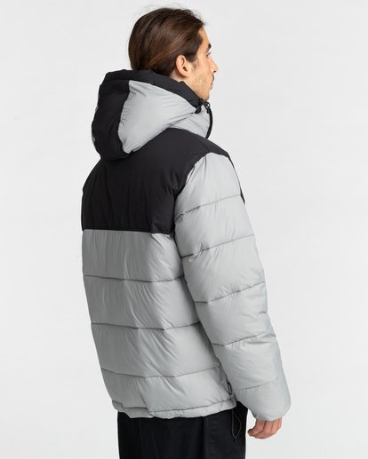 4 Dulcey Puff Contrast Jacket Grey ALYJK00137 Element