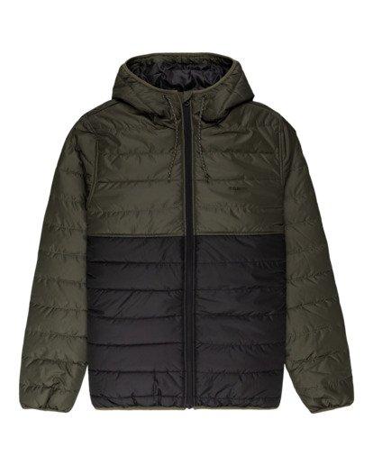 0 Alder Puff Fundamental Jacket Green ALYJK00138 Element