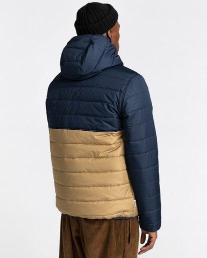3 Alder Puff Fundamental Jacket Blue ALYJK00138 Element