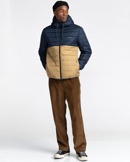 5 Alder Puff Fundamental Jacket Blue ALYJK00138 Element