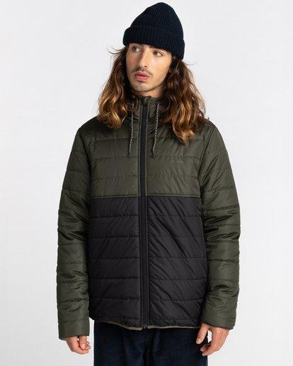 1 Alder Puff Fundamental Jacket Green ALYJK00138 Element