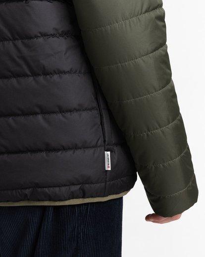 4 Alder Puff Fundamental Jacket Green ALYJK00138 Element