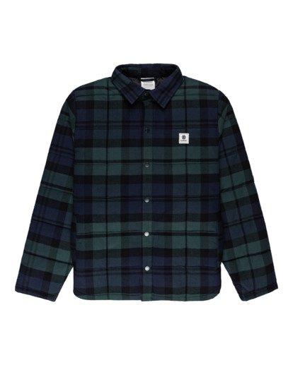 0 Lodge Flannel Shirt Black ALYJK00155 Element
