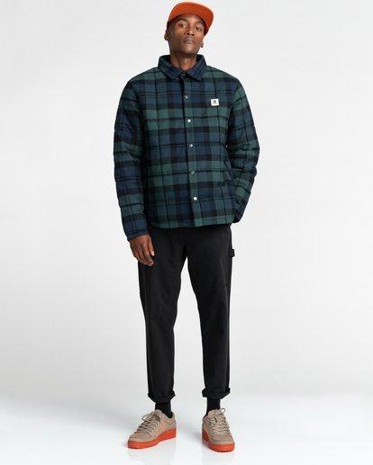 8 Lodge Flannel Shirt Black ALYJK00155 Element