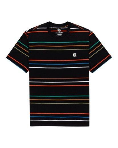 0 Hovden Stripes Short Sleeve T-Shirt Blue ALYKT00110 Element