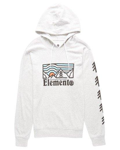 0 Wander Ridge Pullover Hooded Thermal Grey ALYKT00113 Element