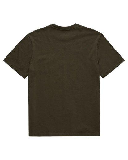 1 Basic Pocket Label Short Sleeve T-Shirt Beige ALYKT00121 Element