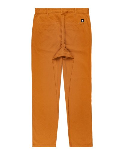 1 Howland Classic Chino Pants Brown ALYNP00105 Element