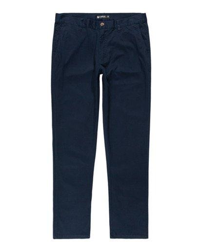 0 Howland Classic Chino Pants Blue ALYNP00105 Element