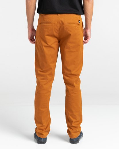5 Howland Classic Chino Pants Brown ALYNP00105 Element