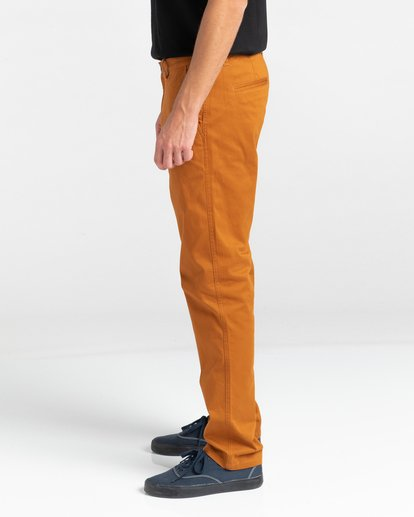 3 Howland Classic Chino Pants Brown ALYNP00105 Element