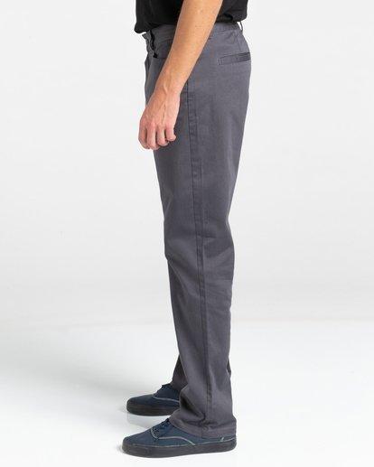 3 Sawyer Chino Pants Black ALYNP00110 Element