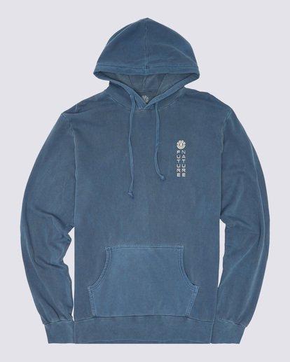 0 Sora Pigment Hoodie Blue ALYSF00102 Element