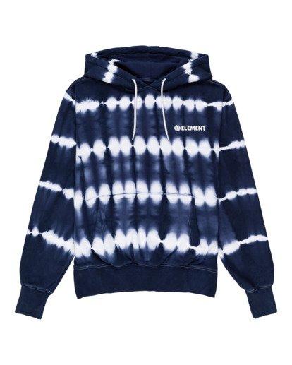 0 Blazin' Chest Tie-Dye Pullover Hoodie Blue ALYSF00114 Element