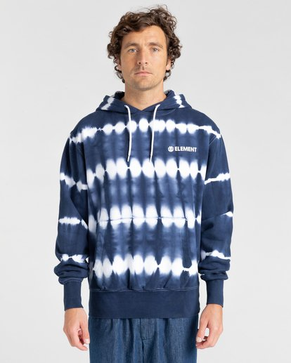 1 Blazin' Chest Tie-Dye Pullover Hoodie Blue ALYSF00114 Element