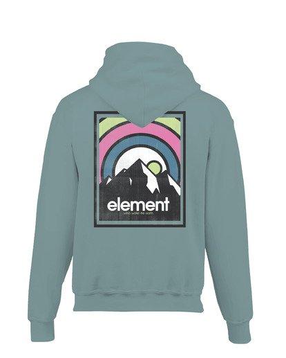 1 Aura Pigment Hoodie Blue ALYSF00133 Element