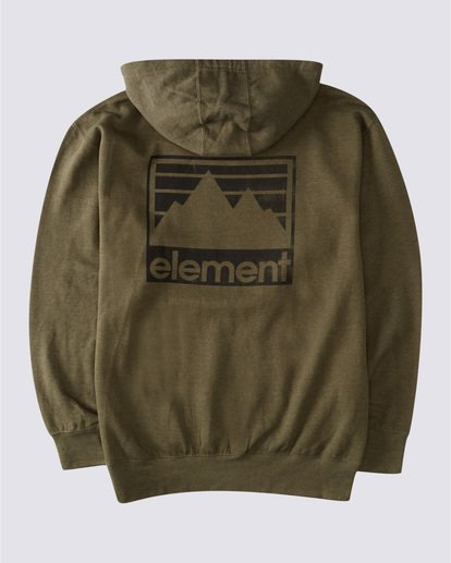 1 Joint Reverse Hoodie Green ALYSF00136 Element