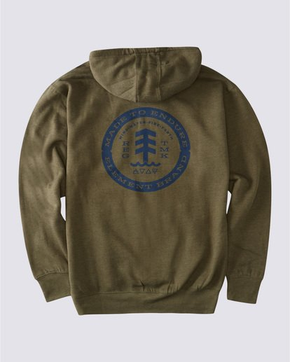 1 Notches Hoodie Green ALYSF00138 Element