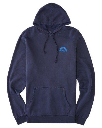 0 Sundown Pigment Pullover Hoodie Blue ALYSF00140 Element