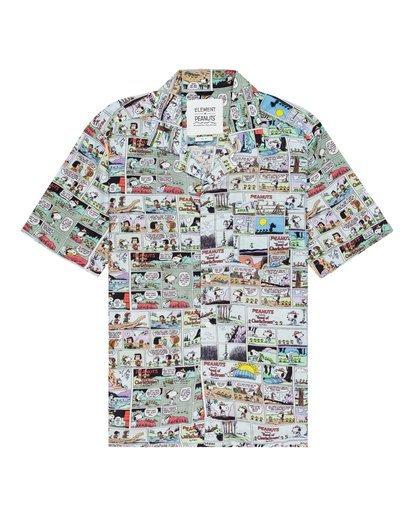 0 Peanuts x Element Marshmallow Button-Down Shirt  ALYWT00106 Element