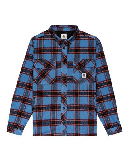 0 Wentworth Flannel Shirt Blue ALYWT00116 Element