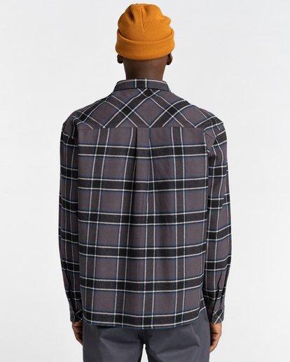 6 Wentworth Flannel Shirt Black ALYWT00116 Element