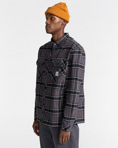 2 Wentworth Flannel Shirt Black ALYWT00116 Element