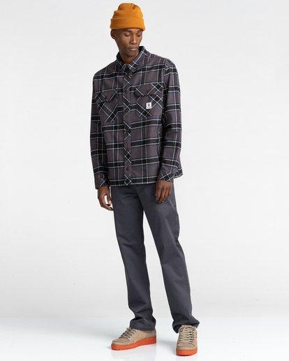 5 Wentworth Flannel Shirt Black ALYWT00116 Element