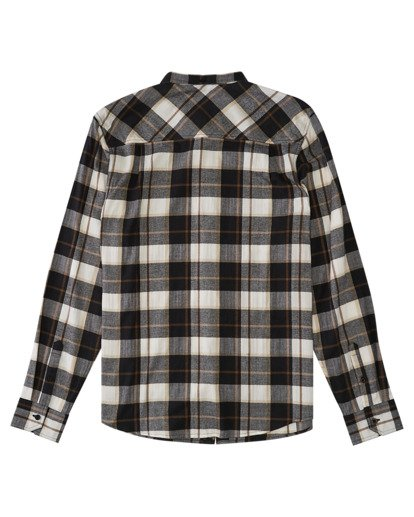 1 Lumber Long Sleeve Flannel Shirt Black ALYWT00118 Element