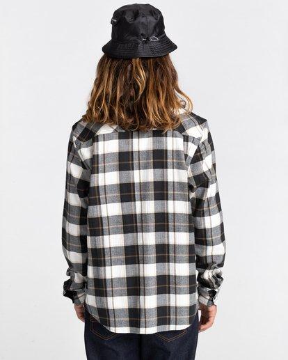 8 Lumber Long Sleeve Flannel Shirt Black ALYWT00118 Element