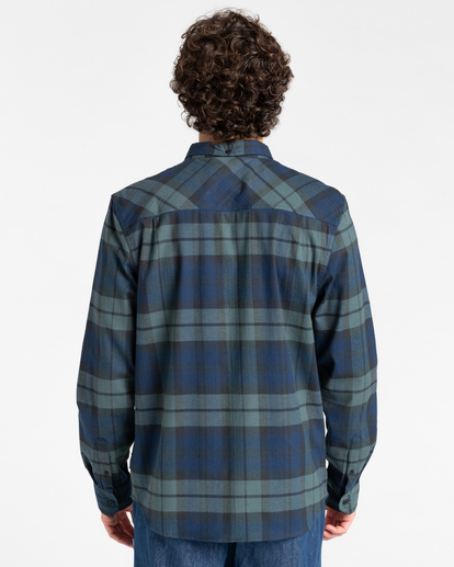 2 Lumber Long Sleeve Flannel Shirt Multicolor ALYWT00118 Element