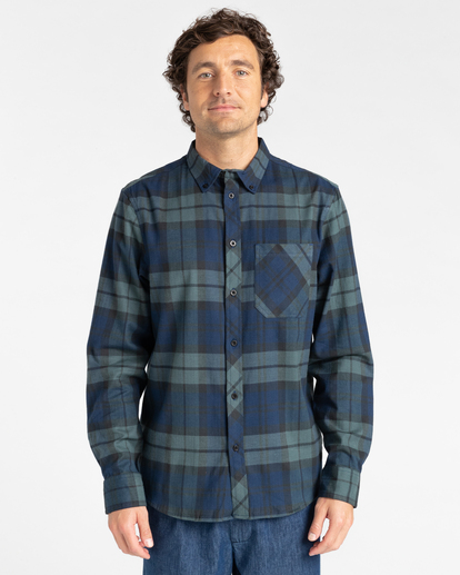 1 Lumber Long Sleeve Flannel Shirt Multicolor ALYWT00118 Element