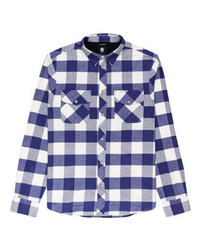 0 Tacoma Flannel Shirt Beige ALYWT00121 Element