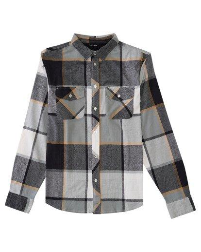 0 Tacoma Flannel Shirt Black ALYWT00121 Element