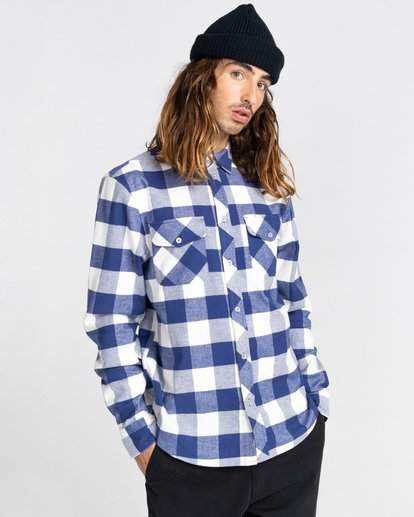 1 Tacoma Flannel Shirt Beige ALYWT00121 Element