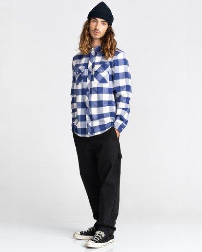 5 Tacoma Flannel Shirt Beige ALYWT00121 Element